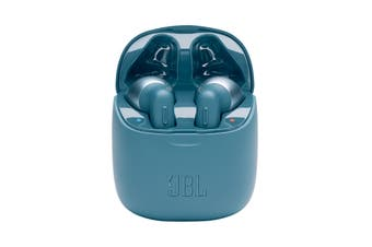 JBL Tune 220 True Wireless In-Ear Headphones (Blue)