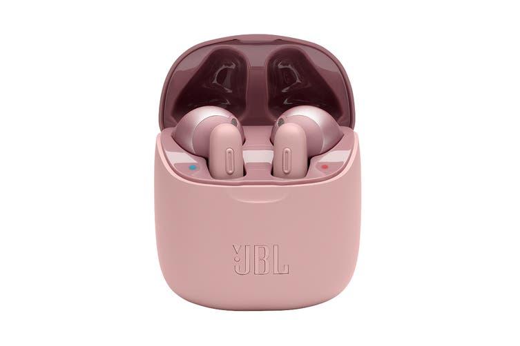 JBL Tune 220 True Wireless In-Ear Headphones (Pink)