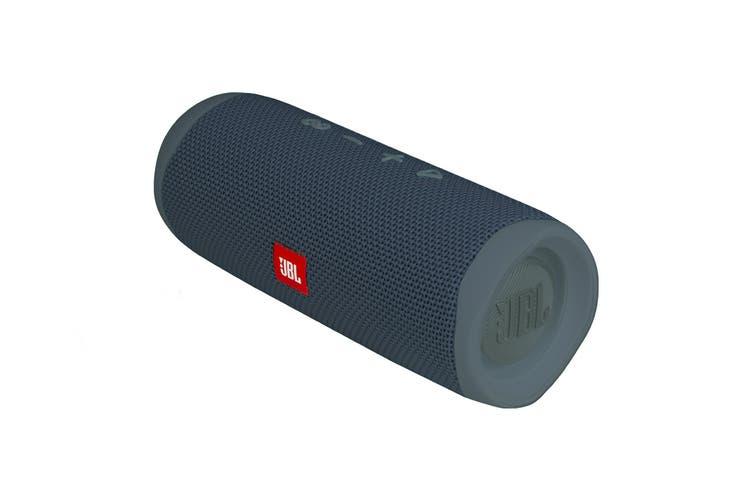 JBL Flip 5 Waterproof Bluetooth Speaker (Blue)