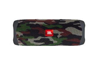 JBL Flip 5 Waterproof Bluetooth Speaker (Squad)
