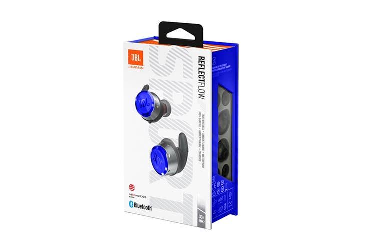 JBL Reflect Flow True Wireless In-Ear Sport Headphones (Blue)