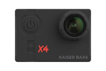 Kaiser Baas X4 4K 30FPS Action Camera with Wi-Fi (KBA12030)