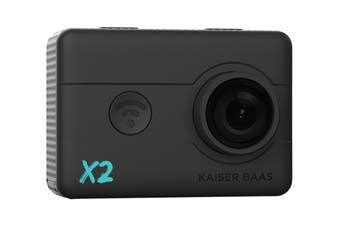Kaiser Baas X2 1080P 30FPS Action Camera with Wi-Fi (KBA12035)