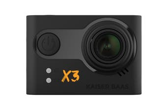 Kaiser Baas X3 2.5K 30FPS Action Camera with Wi-Fi (KBA12036)