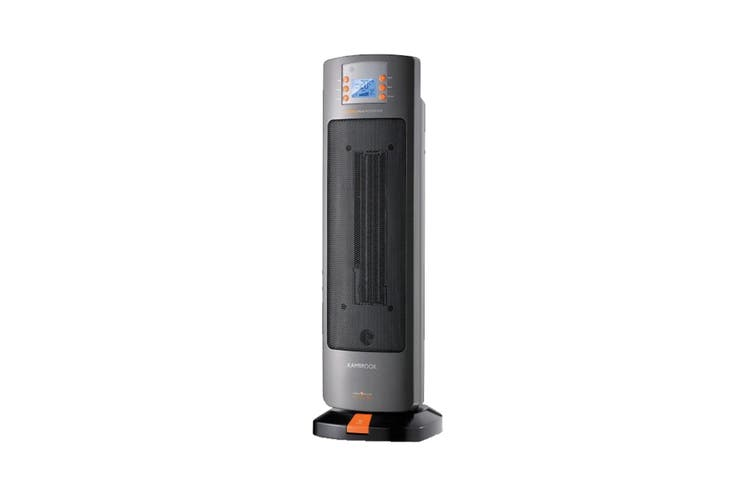 Kambrook 2000W Ceramic Tower Heater with LCD Digital Display (KCE340GRY)