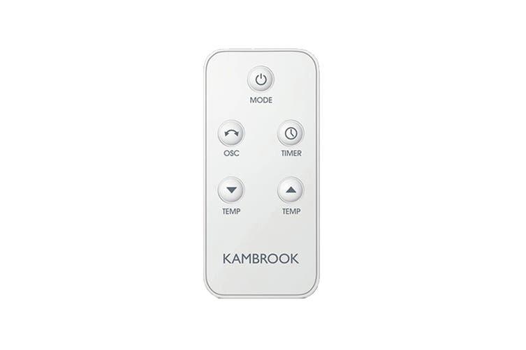 Kambrook All-Round Stylish Ceramic Heater (KCE460WHT2IAN1)