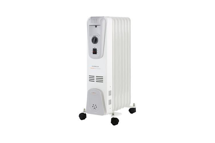Kambrook 1500W 7 Fin Oil Column Heater (KOH107WHT)