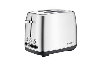 Kambrook 2 Slice Stainless Steel Toaster - Silver (KTA270BSS2JAN1)