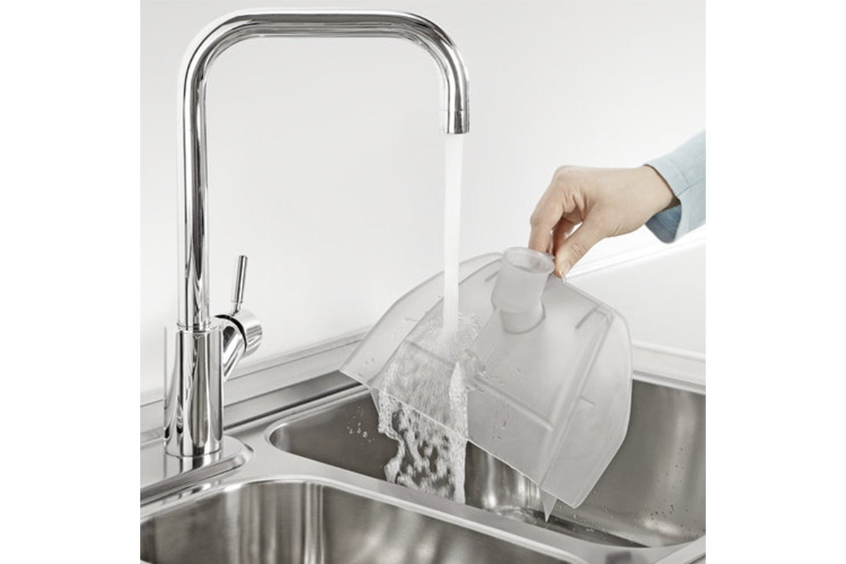 Easy washable water filter