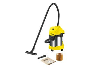 Karcher WD3 Premium Energy Efficient Wet & Dry Vacuum Cleaner (1-629-849-0)