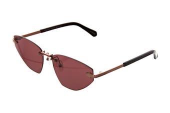 Karen Walker HEARTACHE Sunglasses (Aubergine, Size 60-16-140) - Brown Mono