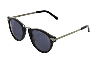 Karen Walker HELTER Sunglasses (Black, Size 48-23-140) - Smoke Mono