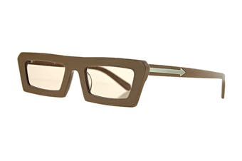 Karen Walker SHIPWRECKS Sunglasses (Caramel, Size 52-21-145) - Tan