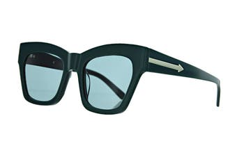 Karen Walker TREASURE Sunglasses (Emerald, Size 52-22-145) - Green
