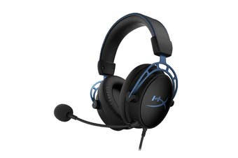 HyperX Cloud Alpha S Gaming Headset for PC, PS4 & Xbox One, Nintendo Switch (Blue)