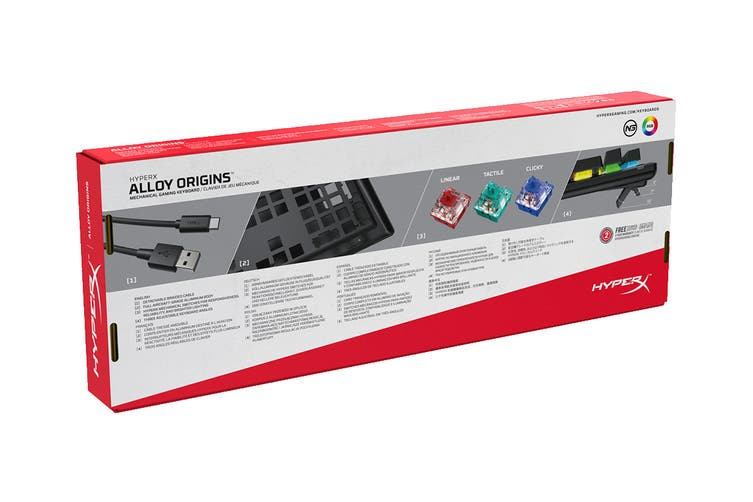 HyperX Alloy Origins Gaming Keyboard (HyperX Red Switch)