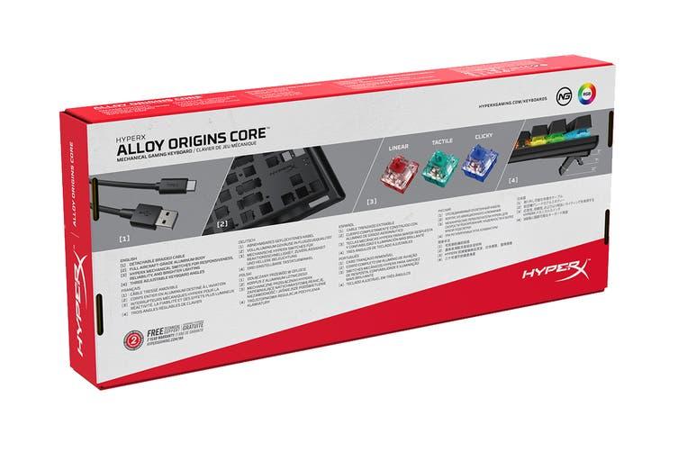 HyperX Alloy Origins Core Mechanical Gaming Keyboard (HyperX Red Switch)