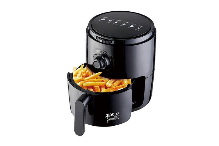 Kitchen Couture 3.4L Low Fat 1200W Air Fryer (Black)