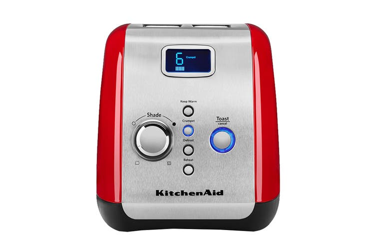 KitchenAid 2 Slice Toaster - Empire Red (5AKMT223ER)