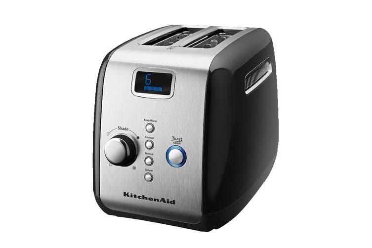 KitchenAid 2 Slice Toaster - Onyx Black (5AKMT223OB)