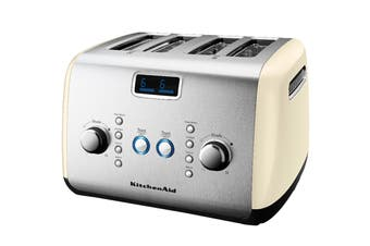 KitchenAid 4 Slice Toaster - Almond Cream (5AKMT423AC)