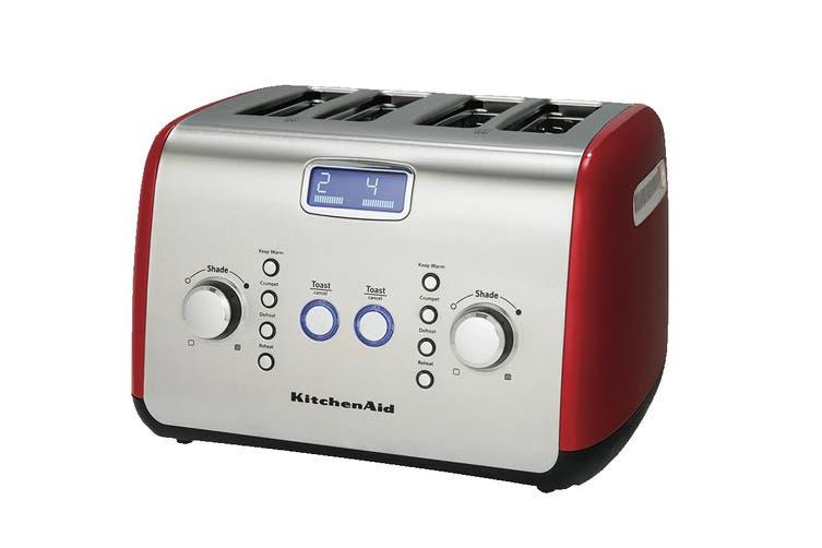 KitchenAid 4 Slice Toaster - Red (5AKMT423ER)