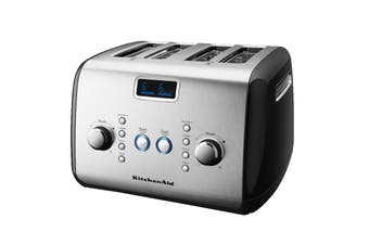 KitchenAid 4 Slice Toaster  - Black (5AKMT423OB)