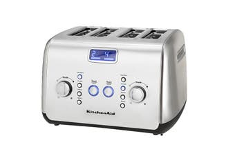 KitchenAid 4 Slice Toaster - Stainless Steel (5AKMT423SX)
