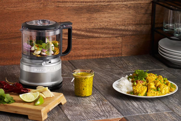 KitchenAid 3.5 Cup Mini Food Processor - Contour Silver