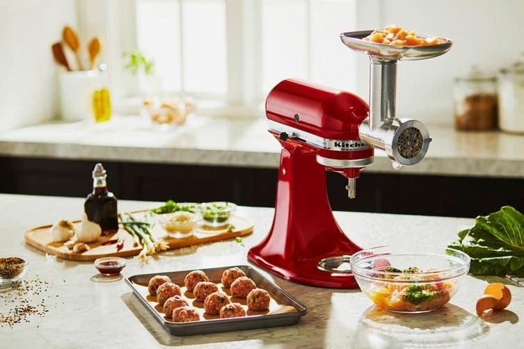 KitchenAid Metal Food Grinder Attachment (5KSMMGAA)