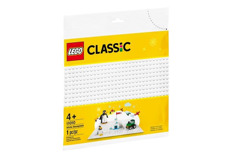 LEGO Classic White Baseplate (11010)