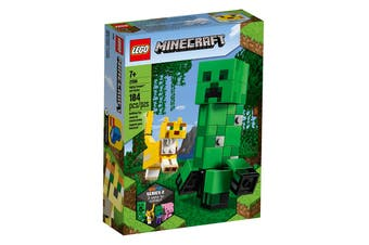 LEGO Minecraft BigFig Creeper™ and Ocelot (21156)