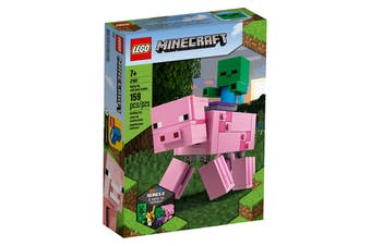 LEGO Minecraft BigFig Pig with Baby Zombie (21157)