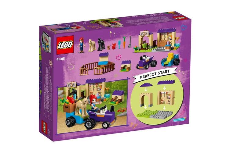 LEGO Friends Mia's Foal Stable (41361)
