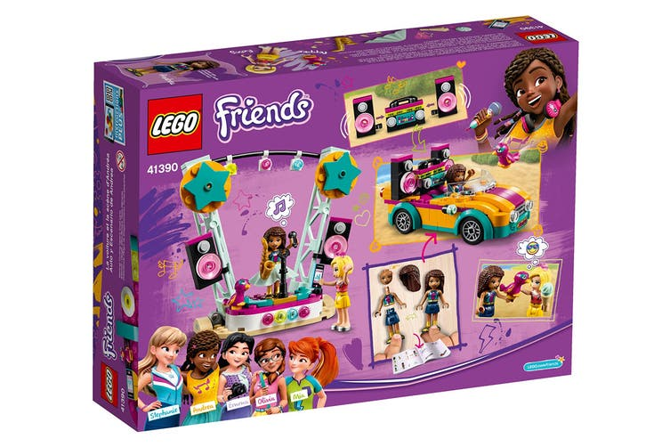 LEGO Friends Andrea's Car & Stage (41390)