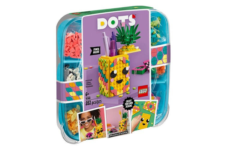 LEGO DOTS Pineapple Pencil Holder (41906)