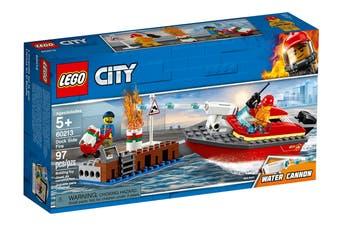 LEGO City Dock Side Fire (60213)