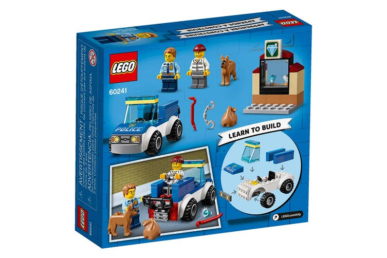 LEGO City Police Dog Unit (60241)
