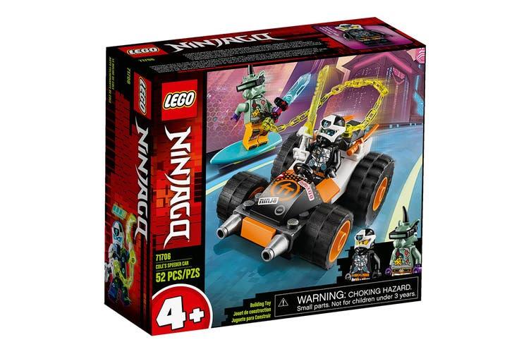 LEGO Ninjago Cole's Speeder Car (71706)