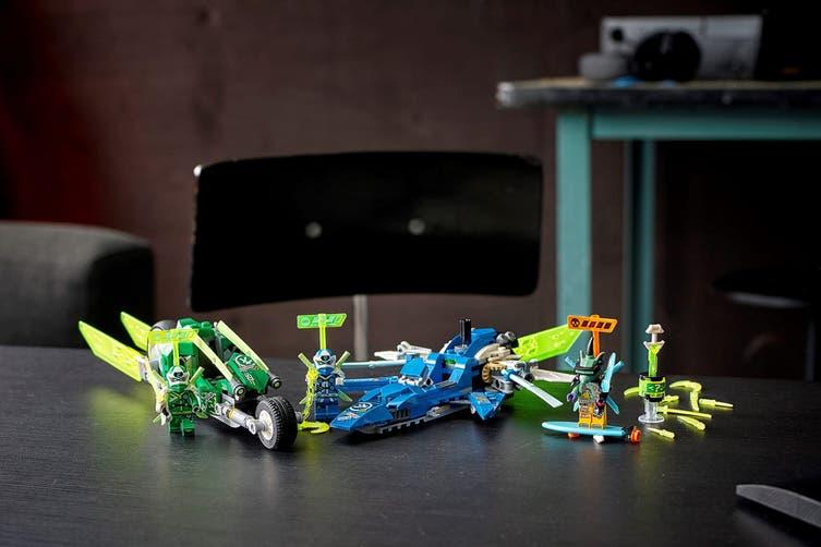 LEGO Ninjago Jay and Lloyd's Velocity Racer (71709)