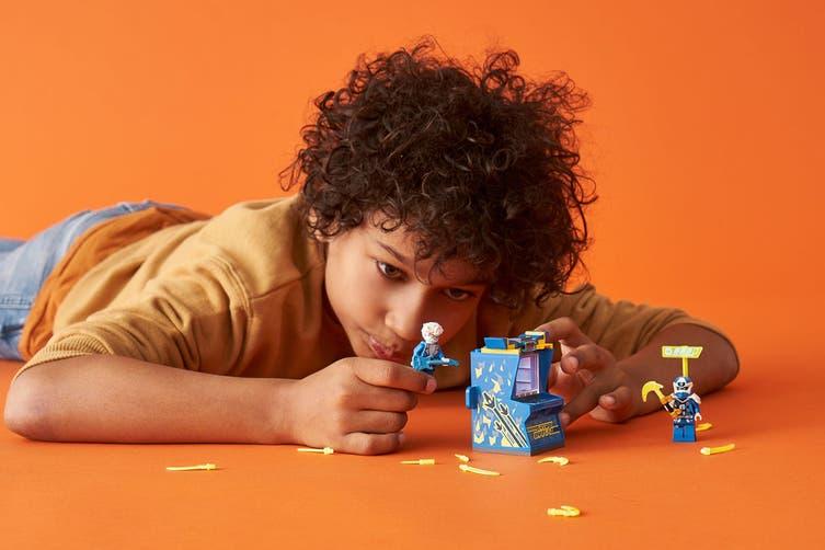 LEGO Ninjago Jay Avatar Arcade Pod (71715)
