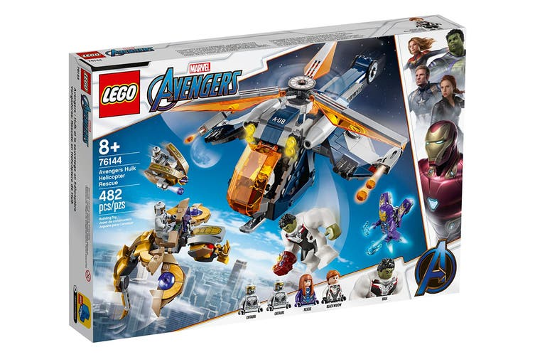 LEGO Super Heroes Avengers Hulk Helicopter (76144)