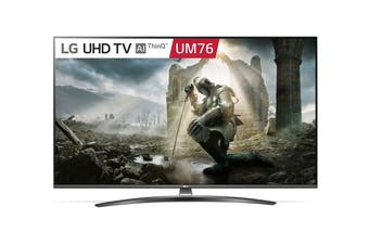 "LG UM76 Series 65"" 4K Ultra HD ThinkQ AI Smart LED TV"