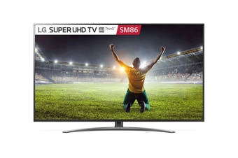 "LG SM86 Series 75"" 4K Super UHD ThinkQ AI Smart LED TV"