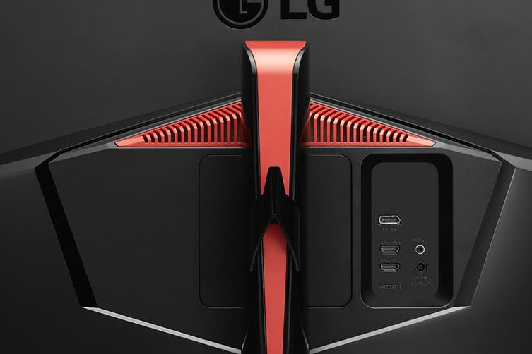 """LG 34"""" 21:9 2560x1080 Full HD Curved UltraWide IPS 144hz Monitor with HDR and G-Sync (34GL750-B)"""