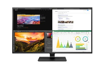 "LG 43"" 4K UHD IPS LED USB-C HDR 10 Monitor (43UN700-B)"