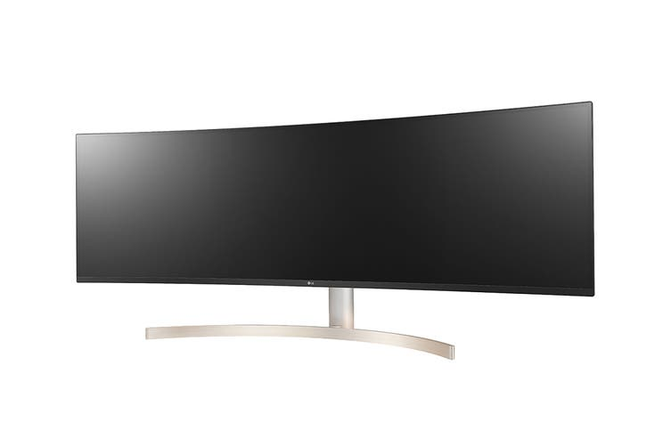 "LG 49"" 32:9 5120x1440 Dual QHD UltraWide Monitor with HDR10 (49WL95C-W)"