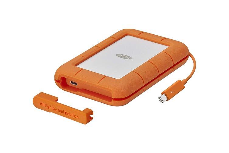 LaCie 5TB Rugged Thunderbolt & USB-C Portable Drive (STFS5000800)