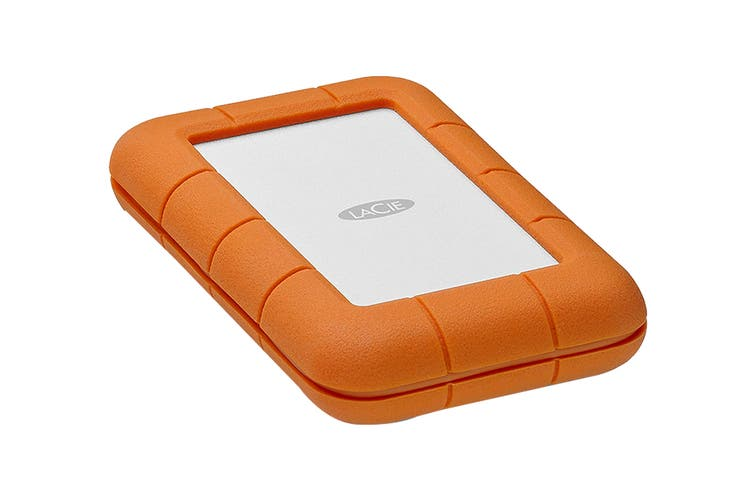 LaCie 500GB SSD Rugged Thunderbolt & USB-C Portable Drive (STFS500400)