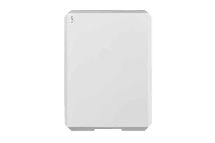 LaCie 1TB Mobile USB-C and USB 3.0 External Hard Drive - Moon Silver (STHG1000400)